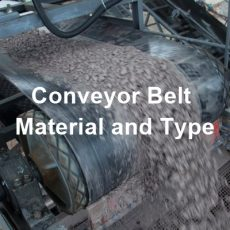Conveyor Belt Material and Type