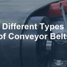 What Are The Different Types of Conveyor Belts?